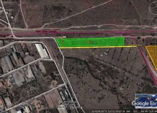terreno de 20,793 mts2 en la zona industrial atras de mabe l