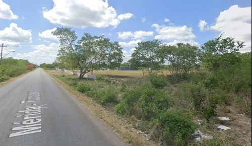 terreno de 22,400m2 sobre carretera en san josé tzal, yucatán.