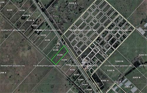 terreno de 2,4 hectáreas  - ruta 2 km 63