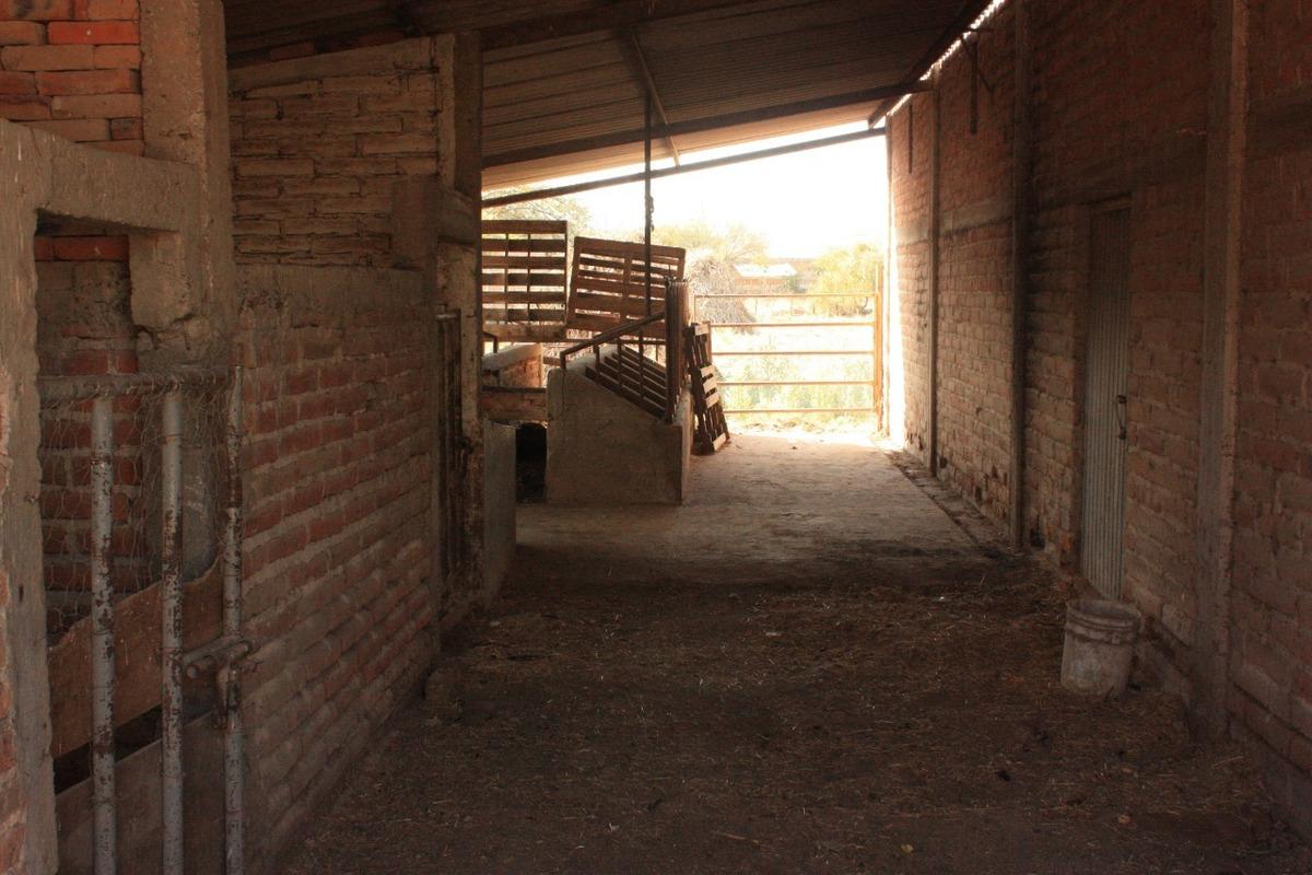 terreno de 2400 mts con bodega y un espacio para animales