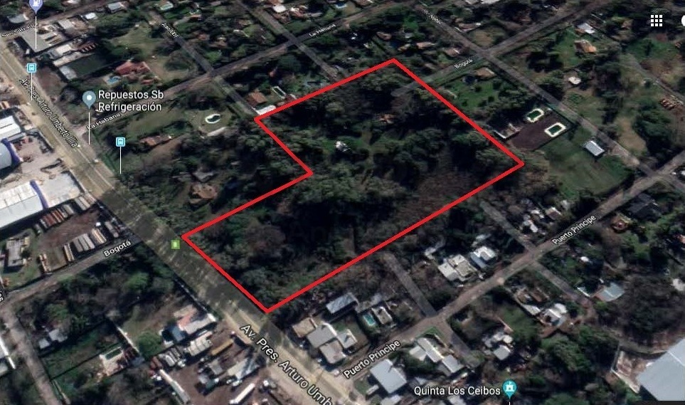 terreno de 2,8 has a la venta - av arturo illia 9900 - malvinas argentinas