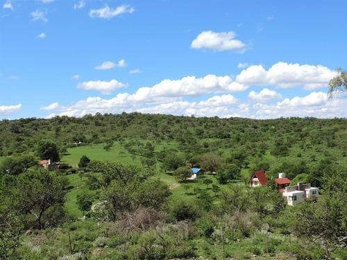 terreno de 4 ha.  - pueblo sierra , villa del dique.
