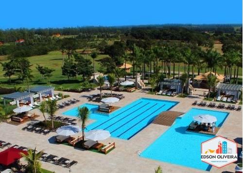 terreno de 450m2 resort residencial santa barbara com lazer  - t-003