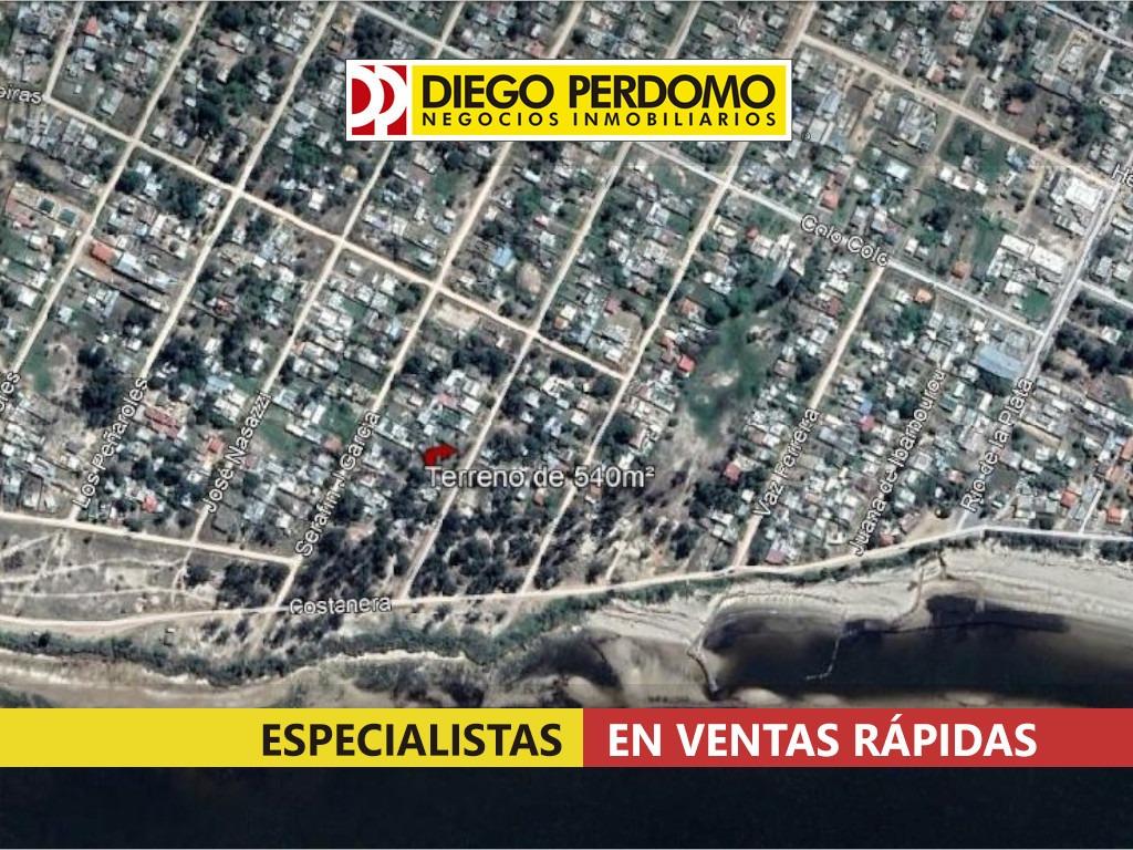 terreno de 540 m² en venta, playa pascual