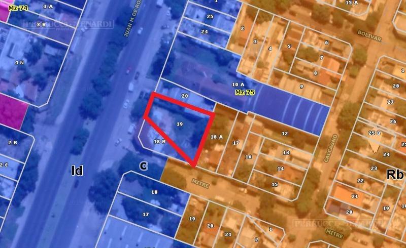 terreno de 550 m2 en zona industrial dominante - sobre av. marquez  - cercanía a accesos.