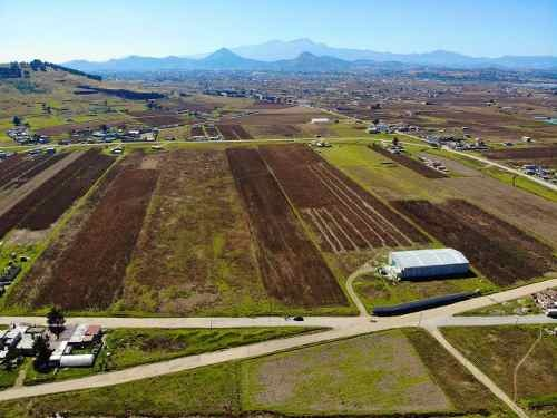 terreno de 6 hectáreas.