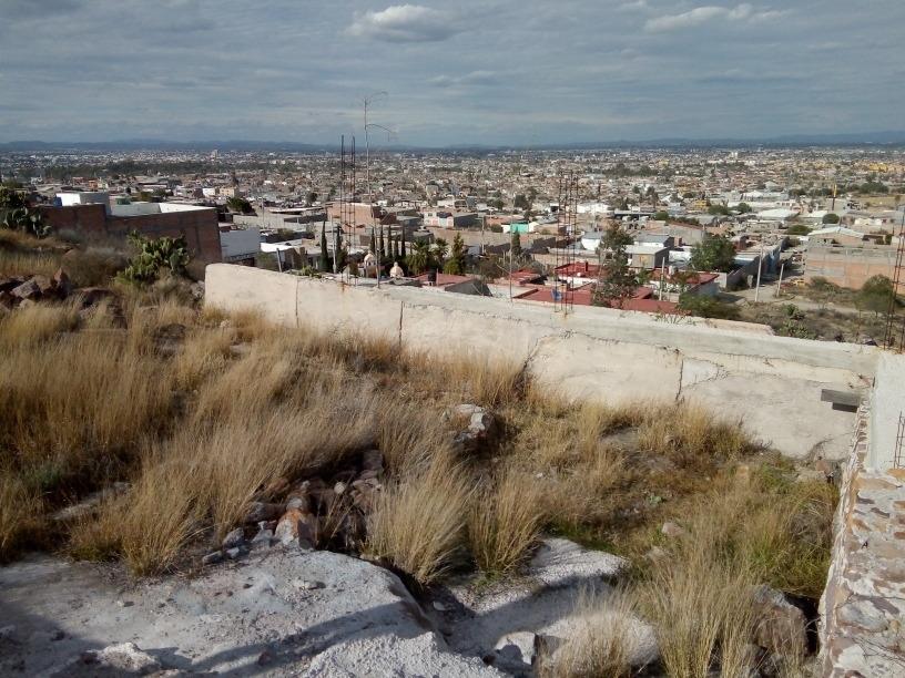 terreno de 600m cuadrados con pendiente y vista panorámica