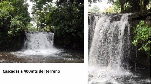terreno de 6.5 hectáreas para centro turístico en san andrés tuxtla