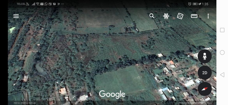 terreno de 65,000 metros cuadrados