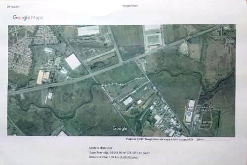 terreno de 65,171.78 mts en la zona industrial, el salto.