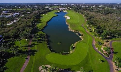 terreno de 836m2 en xtakay country club yucatan