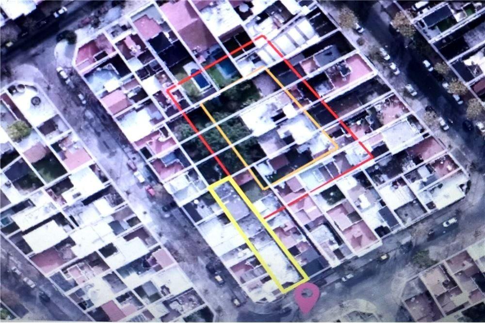 terreno de 8,66 x 43 mts. edificable 780  m2 aprox