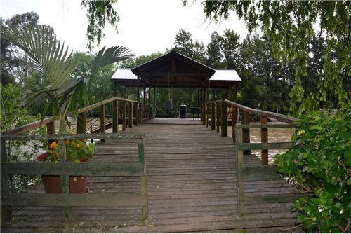 terreno de 9 ha en isla delta tigre