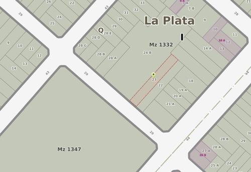 terreno de 9 x 61 - barrio norte