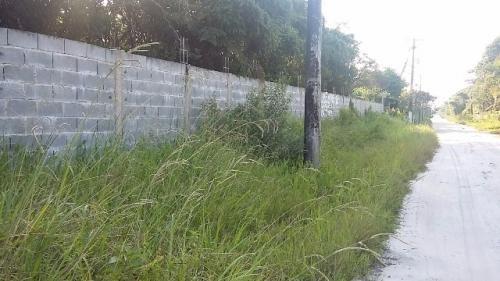 terreno de chácara com 1300 m², possui escritura, itanhaém!!