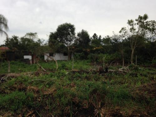 terreno de chácara em itanhaém, bal. gaivota, com construção