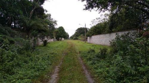 terreno de chácara em itanhaém, escriturado - ref 4391-p