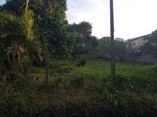 terreno de chácara no balneário gaivota, em itanhaém,4320