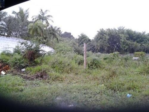 terreno de chácara no jardim coronel em itanhaém - sp
