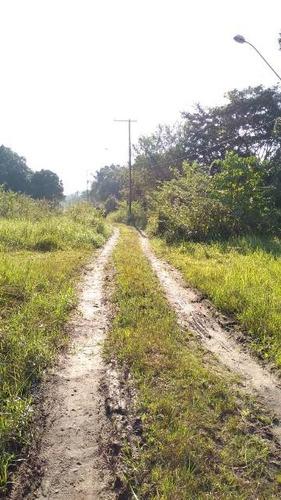terreno de chácara no parque vergara, em itanhaém - ref 4445