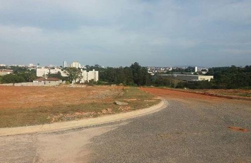 terreno de condomínio, além ponte, sorocaba - r$ 280 mil, cod: te7339 - vte7339