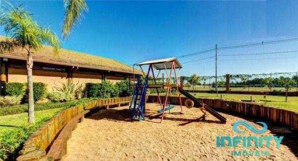 terreno de condomínio, alphaville, gravataí - r$ 180 mil, cod: 418 - v418