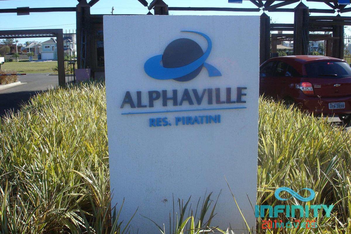 terreno de condomínio, alphaville, gravataí - r$ 220 mil, cod: 61 - v61