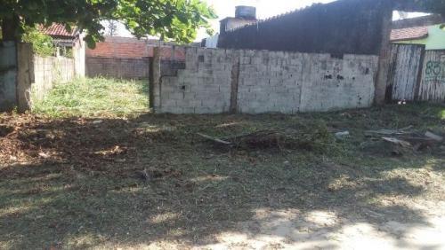 terreno de esquina em itanhaém-sp, balneário tupy! 250 m²