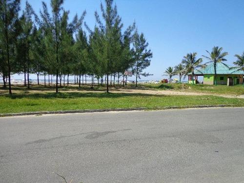 terreno de esquina ficando de frente para o mar - ref 2403