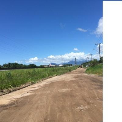 terreno de esquina no bopiranga, em itanhaém.