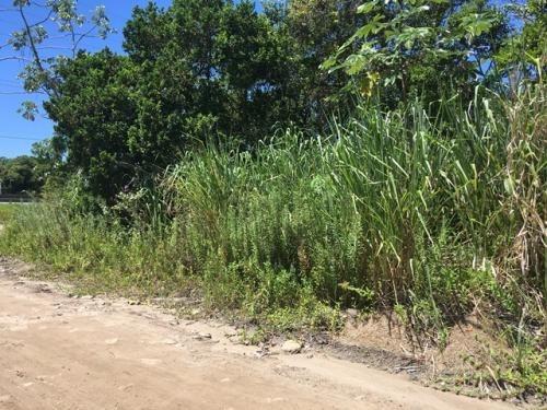 terreno de esquina no bopiranga, em itanhaém