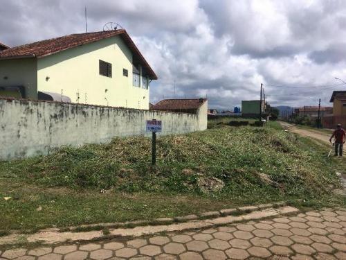 terreno de esquina no cibratel, em itanhaém,ref.  c0903 l c