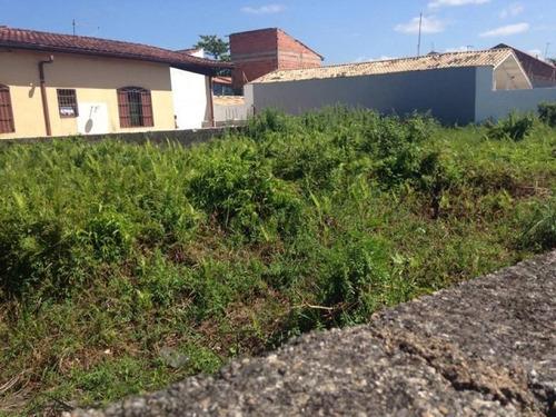 terreno de esquina, no jardim grandesp, em itanhaém ref 2549