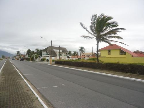 terreno de frente para o mar em peruíbe - 1013