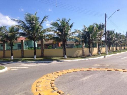 terreno de frente para o mar, rua asfaltada, condomínio