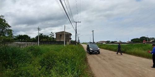 terreno de frente para rodovia, no balneário gaivota,4279