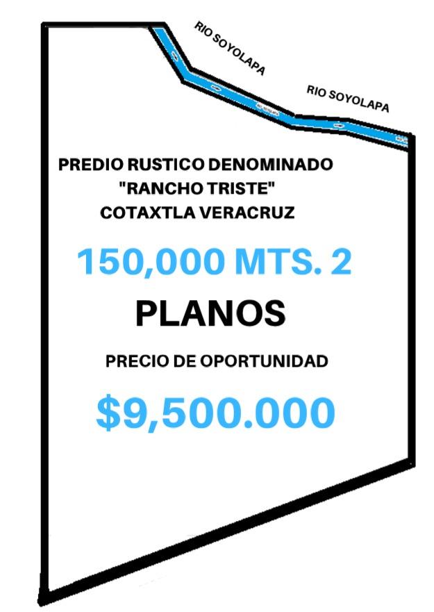 terreno de oportunidad, 150,000 mts planos, trato directo!