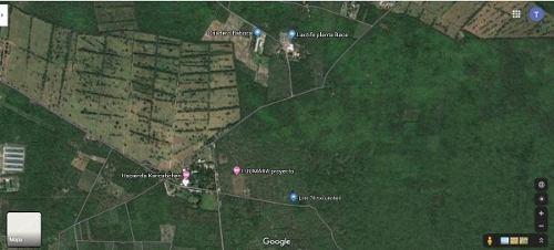 terreno de oportunidad en venta tixkuncheil cerca de hacienda kancabchen