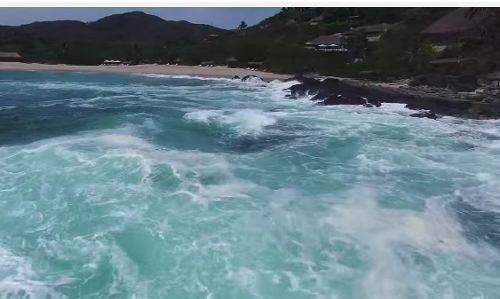 terreno   desarrollo arcano  marina ixtapa con vista al mar