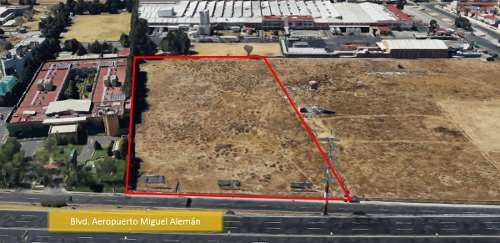 terreno disponible para venta en blvd. aeropuerto, toluca