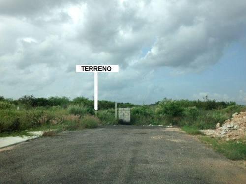 terreno dzitya 4 hectareas, junto a servicios