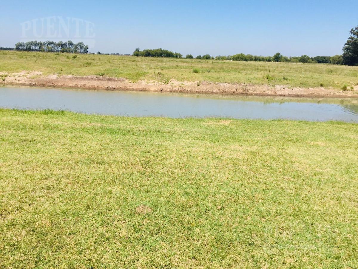 terreno - el principado - canning - ezeiza - san vicente - fondo al lago