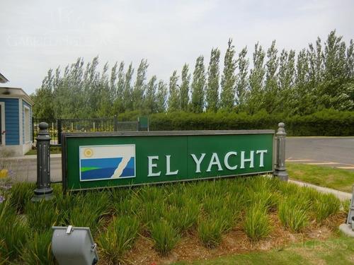 terreno - el yacht nordelta