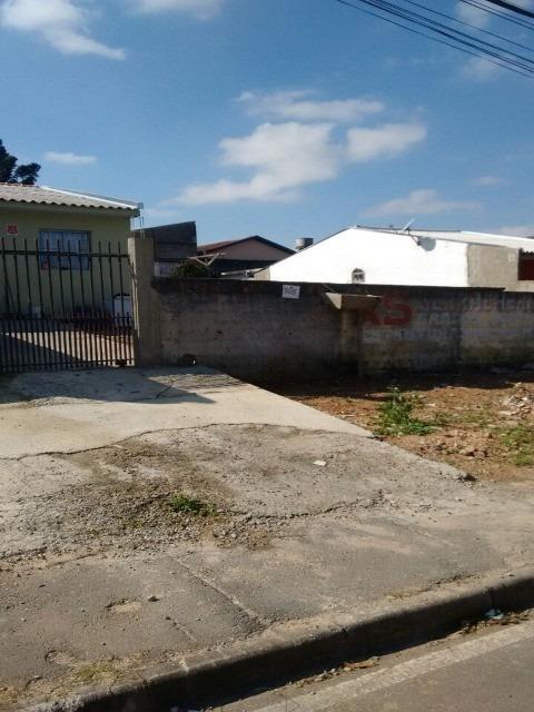 terreno em araucária com 3 casas de alvenaria individual todas locadas com rendimento de até r$ 2.000,00 de aluguel. - c-564 - 4730337