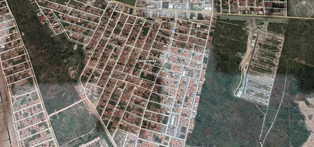 terreno em cajupiranga, parnamirim/rn de 0m² à venda por r$ 300.000,00 - te552044
