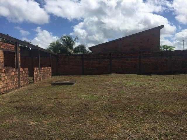 terreno em castanhal ( com casa semipronta)
