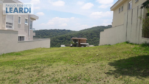 terreno em condomínio alphaville - santana de parnaíba - ref: 467348