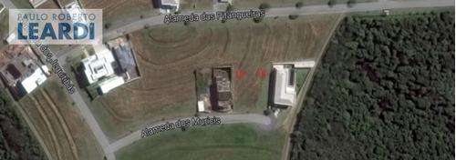terreno em condomínio alphaville - santana de parnaíba - ref: 483655