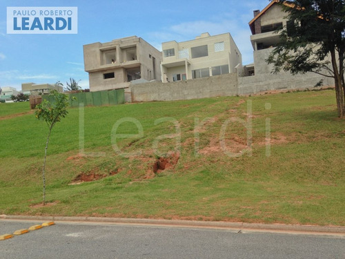 terreno em condomínio alphaville - santana de parnaíba - ref: 497626