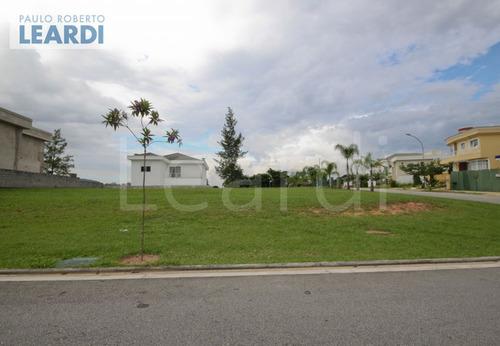 terreno em condomínio alphaville - santana de parnaíba - ref: 498372